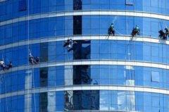 重庆专业高空外墙清洗、玻璃外墙保洁